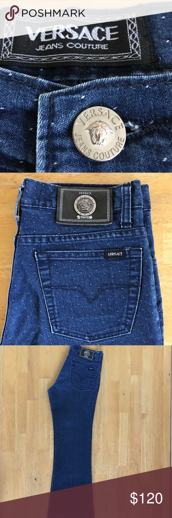 Spotted while shopping on Poshmark  VERSACE Couture Jeans N. 059899!   poshmark  fashion  shopping  style  versace Jeans Couture  Denim 722aad2257