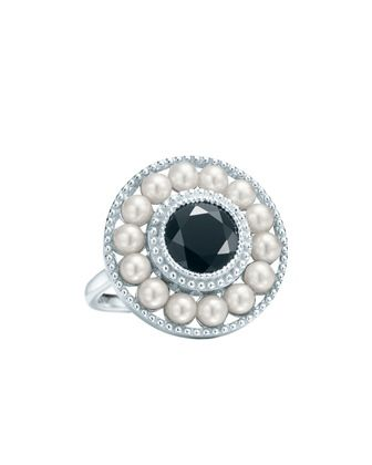 c6a00d70b The Great Gatsbty   A Ziegfeld pearl and onyx ring from Tiffany & Co.  inspired by Gatsby. The storied New York jeweler provided jewelry and home  accessories ...
