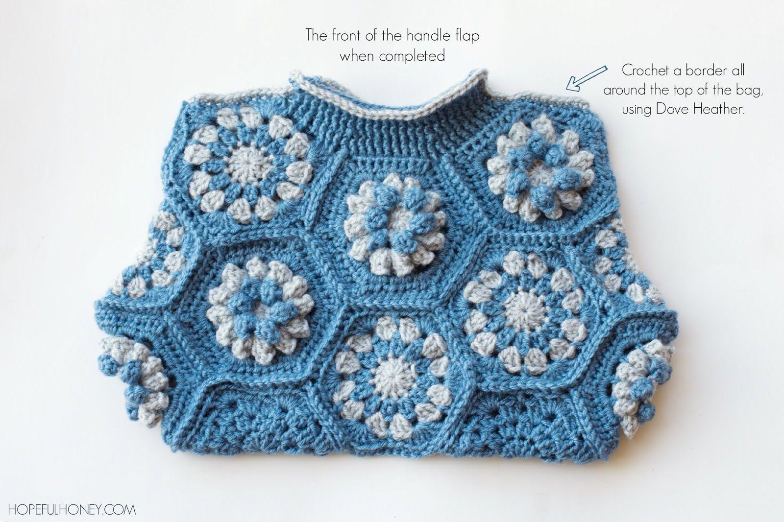 Hexagon Handbag Crochet Pattern