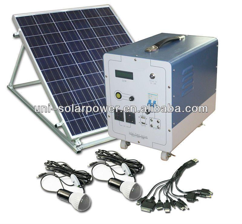 Ac Dc Solar Power System 100w 0 1 1 Solar Energy System Solar Tracker Solar Energy