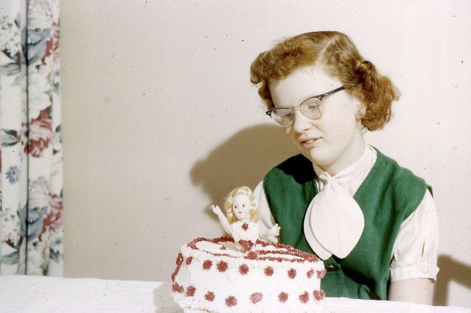 1960 Doll Cake Doll Cakes Pinterest Cake