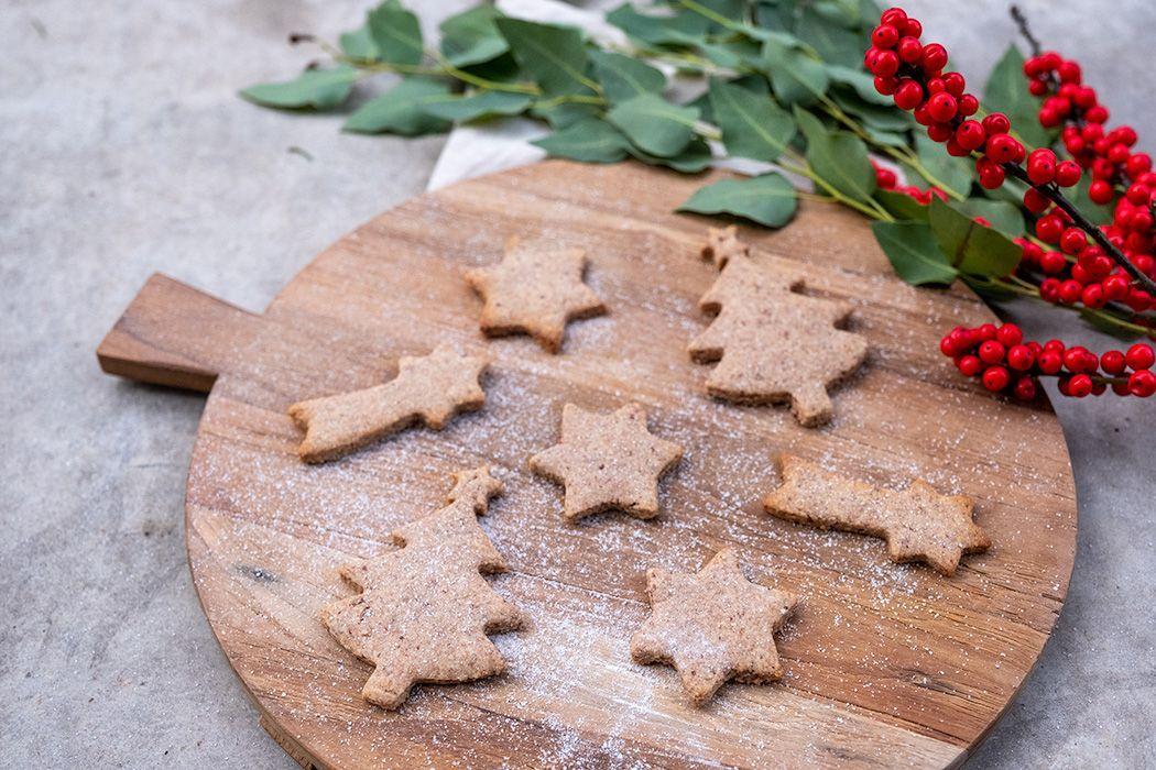 Rezept: Ausstechkekse / Plätzchen ohne Zucker (Weihnachten) - Projekt: Gesund leben   Clean Eating,...