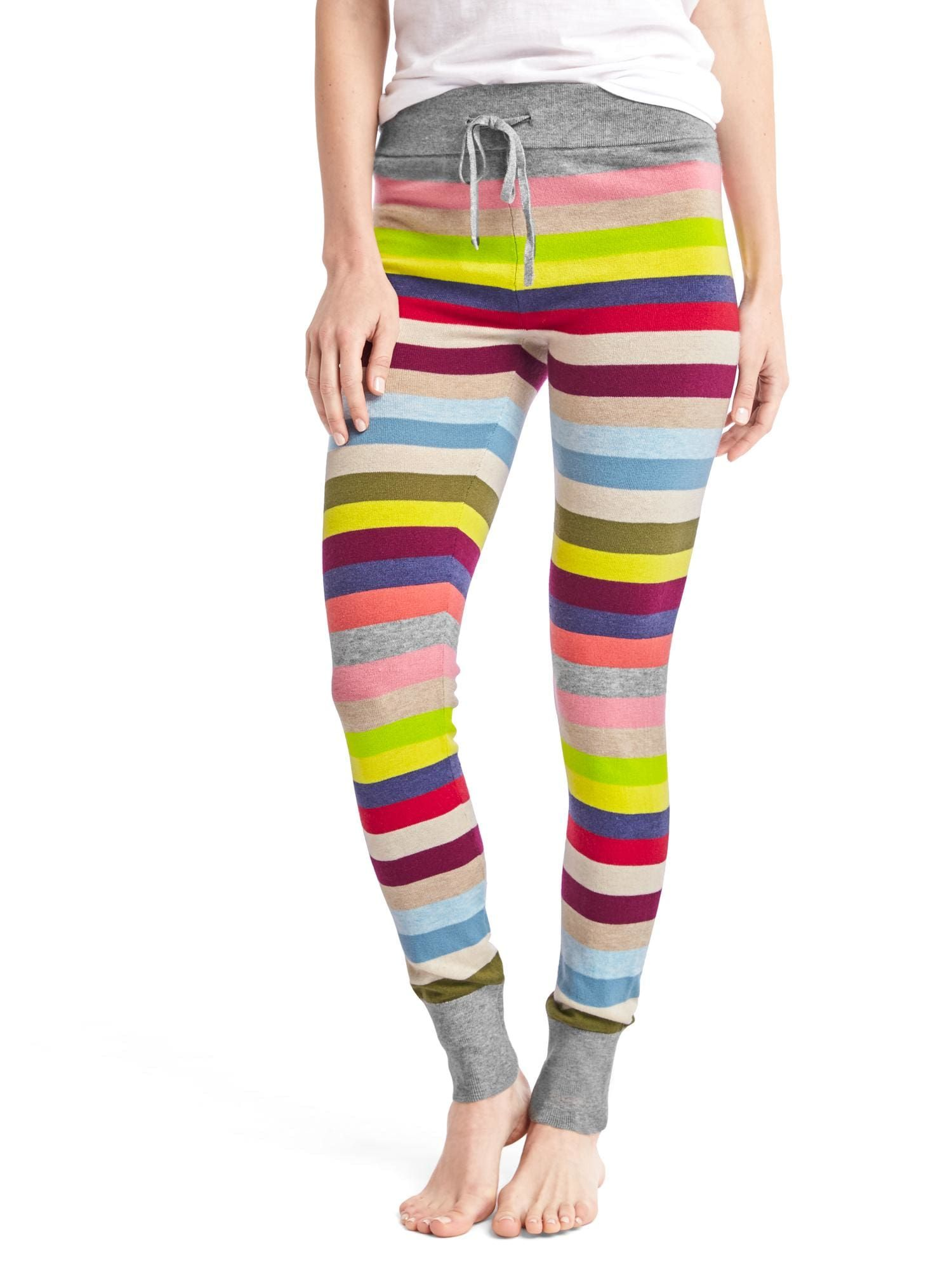 Gap. Crazy Stripe Sweater Leggings. Small | Comfy Clothes ...