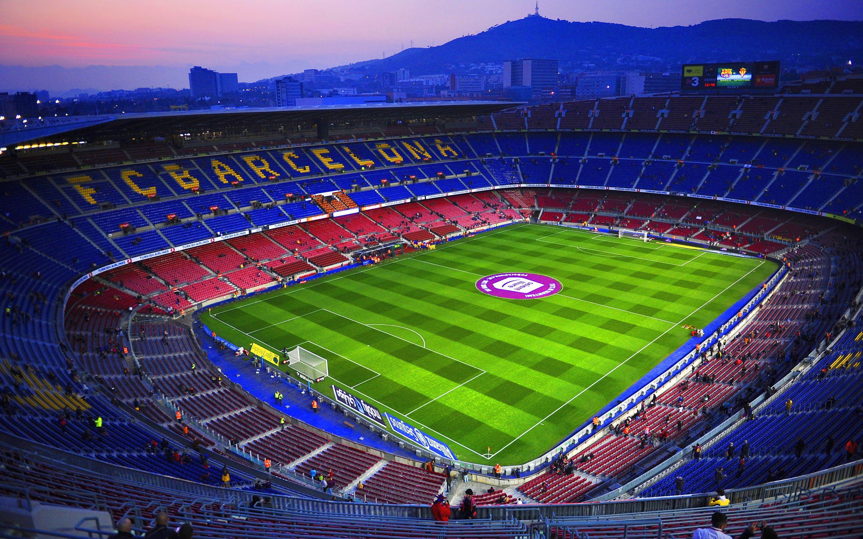 Футбольные стадионы испани