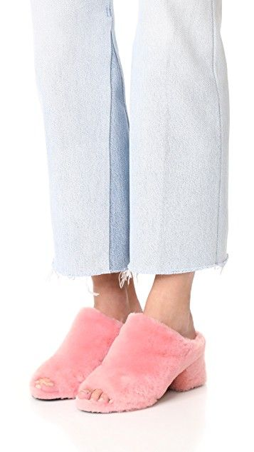Discount Limited Edition 3.1 Phillip Lim Cube shearling sandals Free Shipping Big Discount Clearance Perfect Clearance 100% Guaranteed Buy Cheap Pay With Paypal Kk1ao