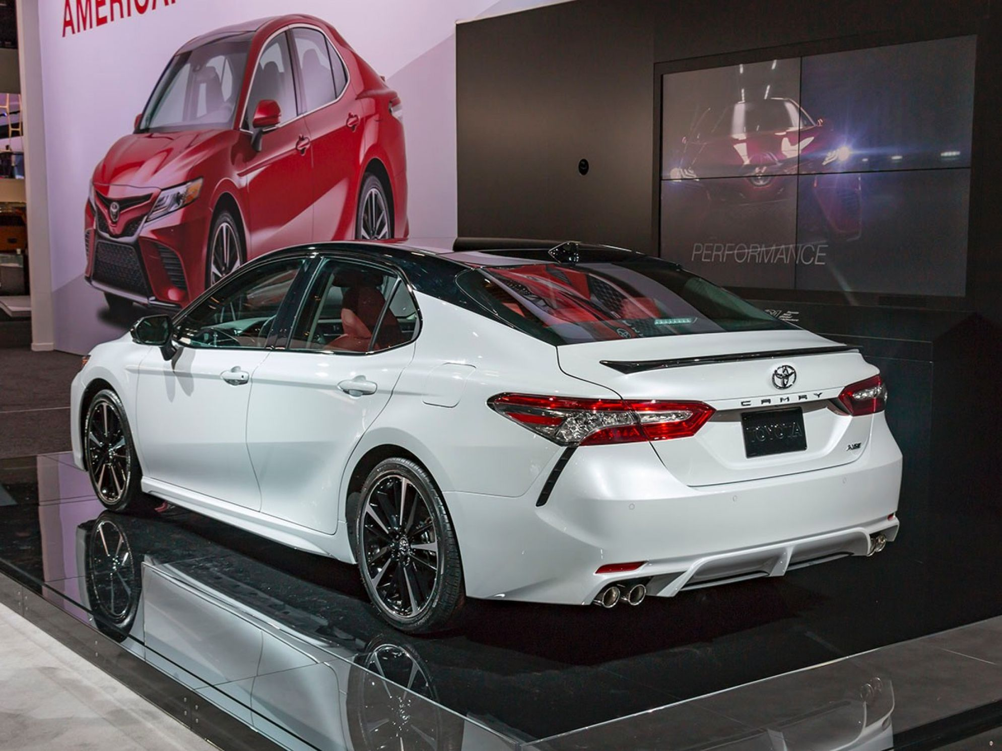 All New 2018 Toyota Camry Hd Wallpaper Toyota Camry