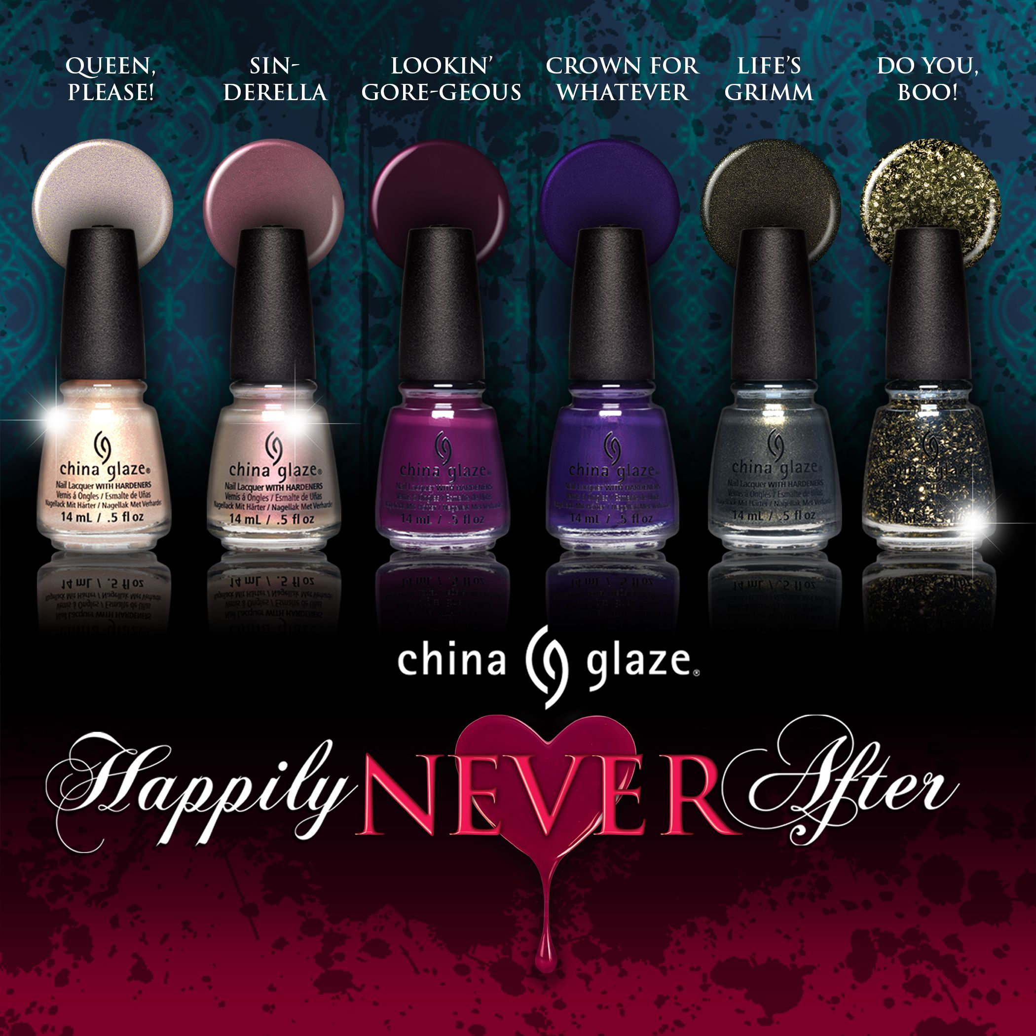 Matte Nail Polish Online: China Glaze Online Only Happily Never After Collection