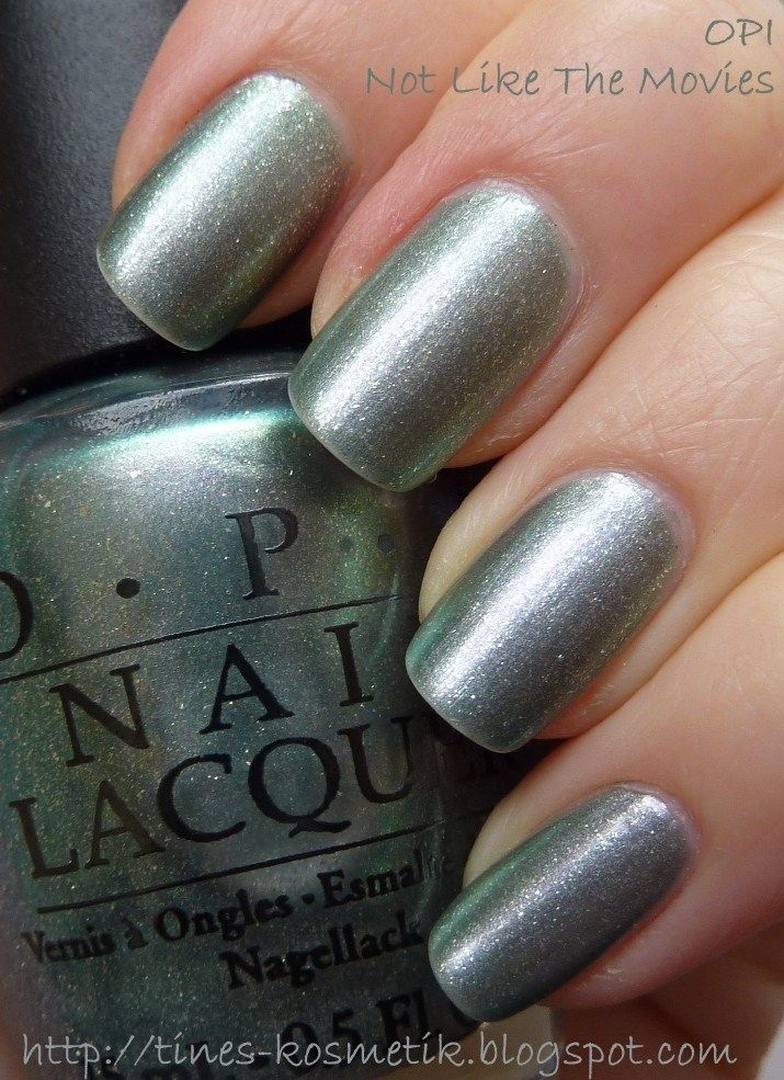 Tines Kosmetikblog: OPI Not Like The Movies (Katy Perry) | nail ...