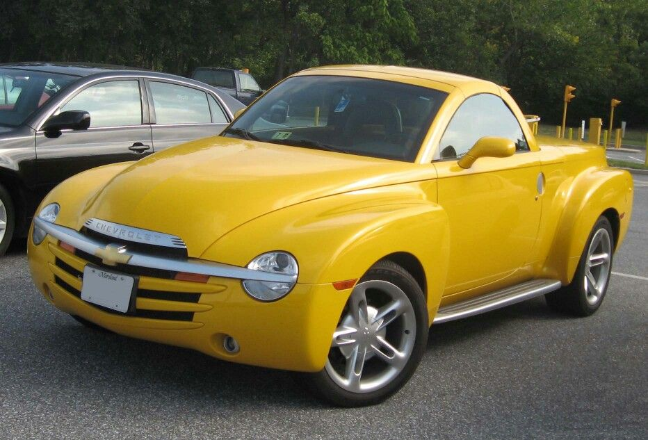 Chevy SSR - this is the obly type of pick up truck I would buy ...