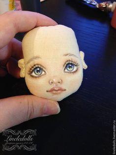 Bez Bebek Yüz Çizimi #dollfacepainting