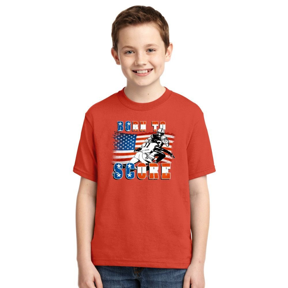 Born To Score Football Player 05 Youth T-shirt