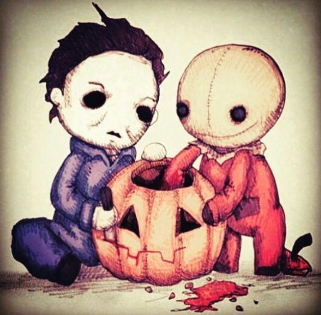 Michael Myers Trick R Treat Sam Horror Halloween Pumpkin
