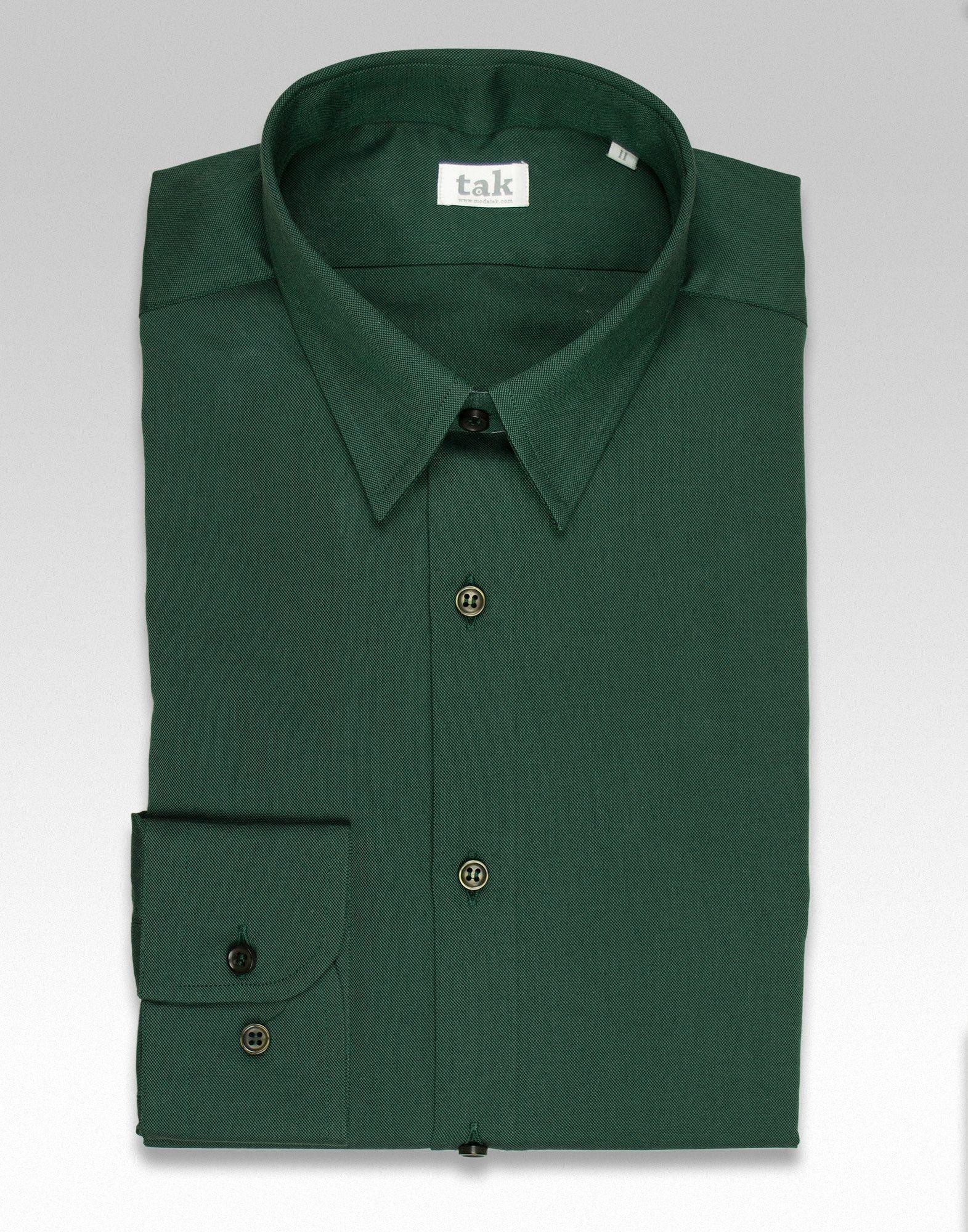 Color Camisas Hombre 2018 De Para En Camisa Botella Algodón Verde EngPwx4Aq