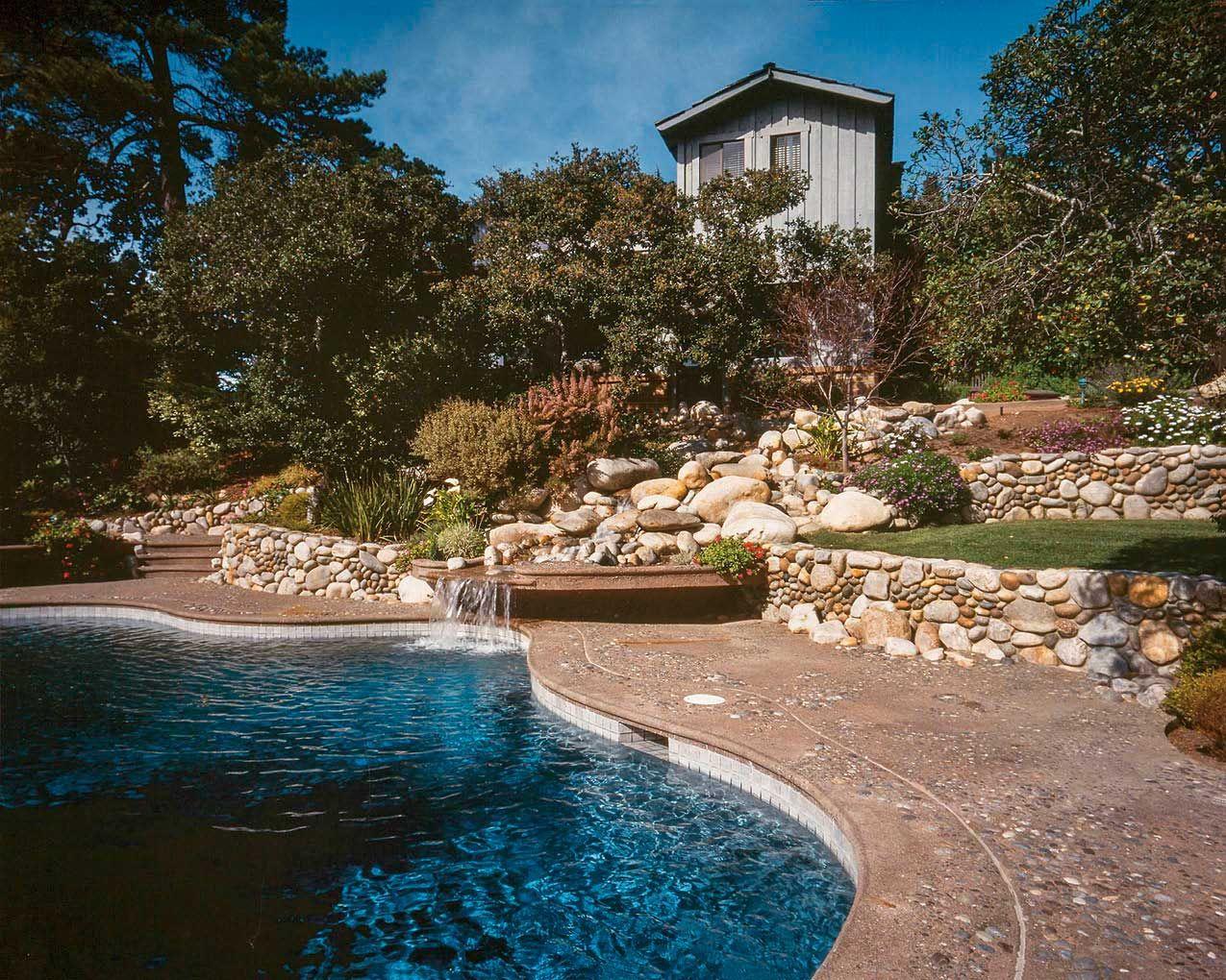 Pin On Concrete Pool Decks And Backyards