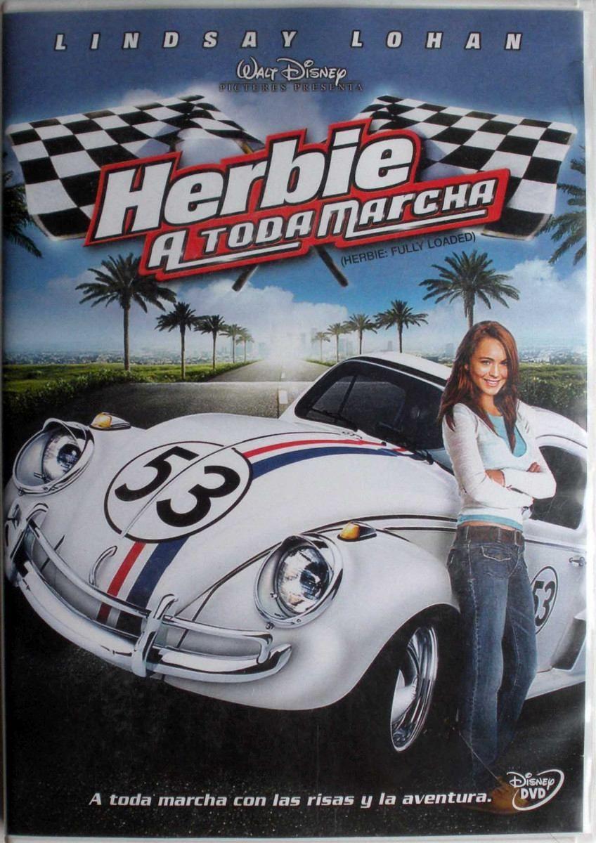 Dvd - Herbie A Toda Marcha - Walt Disney - Lindsay Lohan - $ 150,00 ...
