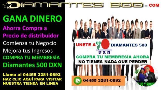 Compra los productos DXN con Diamantes 500 (3)