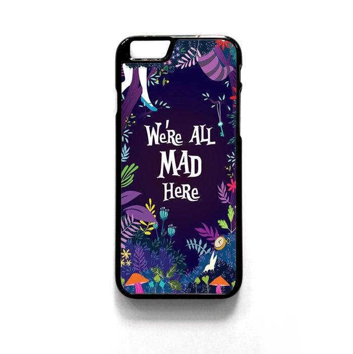 Alice Wallpaper for Iphone 4/4S Iphone 5/5S/5C Iphone 6/6S/6S Plus/6 Plus Phone case