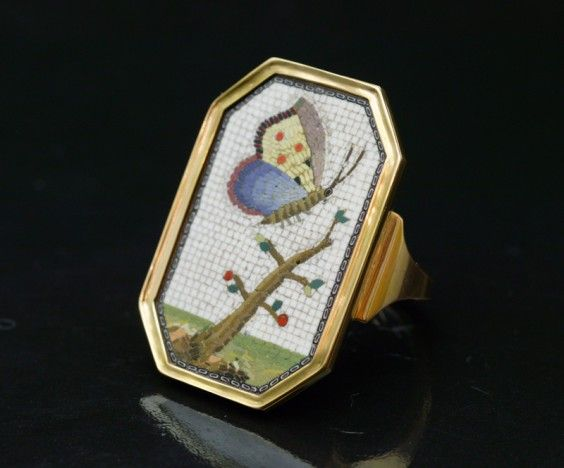 antique-jewellery-micro-mosaic-ring-papillon-2