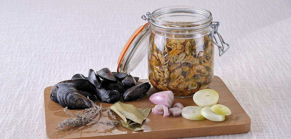 Voici une id e originale des moules ap ritives en bocal conserves pinterest moule - Sterilisation plats cuisines bocaux ...