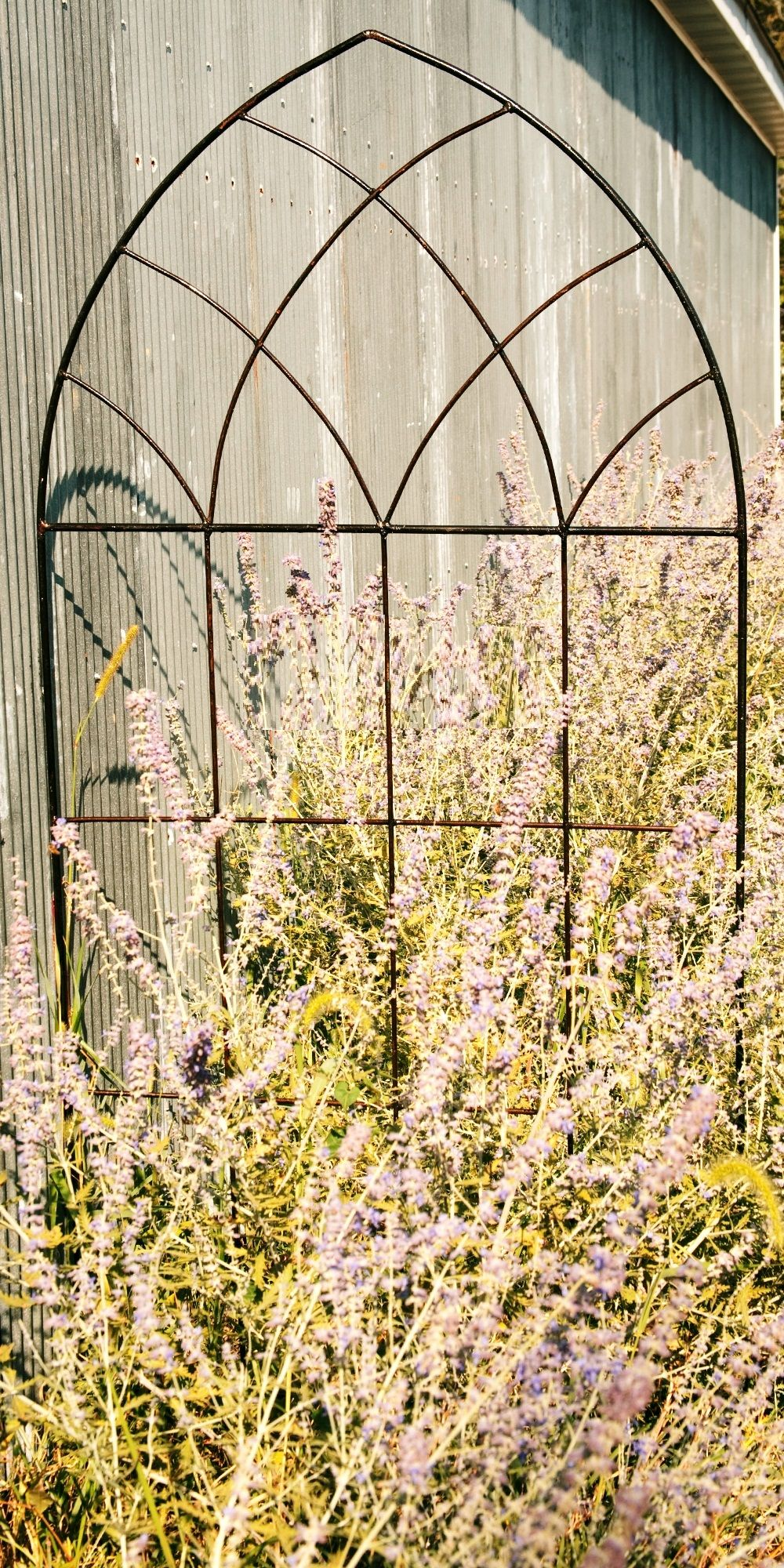 Wrought Iron Mission Trellis - 2 Sizes | Plants | Pinterest ...
