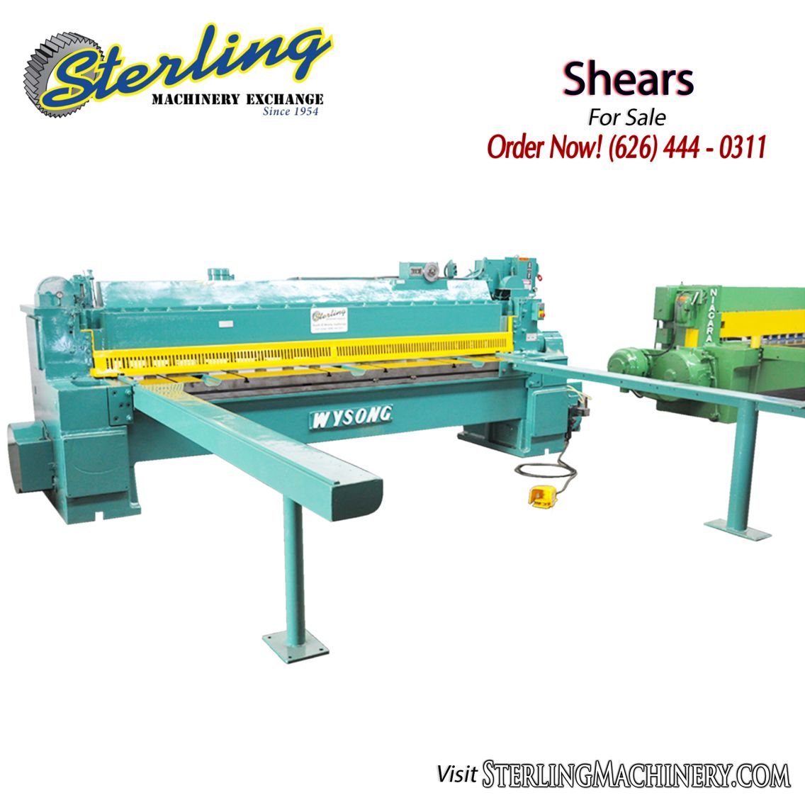 Shears For Sale Sterlingmachinery Com Sterlingmachinery Shears Shear Surely Powershear Metalworking Fabricate Fabrica With Images Metal Working Press Brake Shears