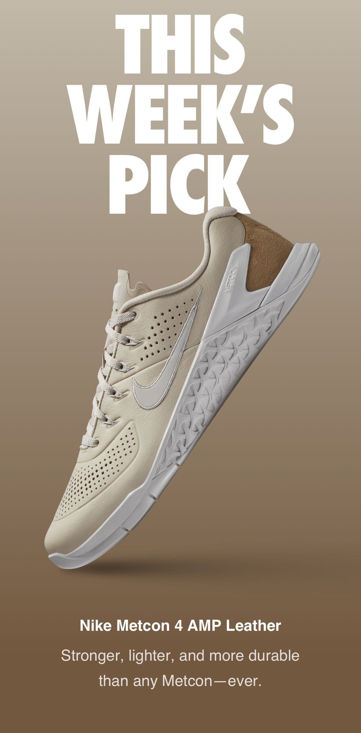 huge selection of d2be7 e92f1 NIKE METCON 4 AMP LEATHERT Zapatillas, Zapatillas De Deporte Bonitas,  Zapatos De Entrenamiento