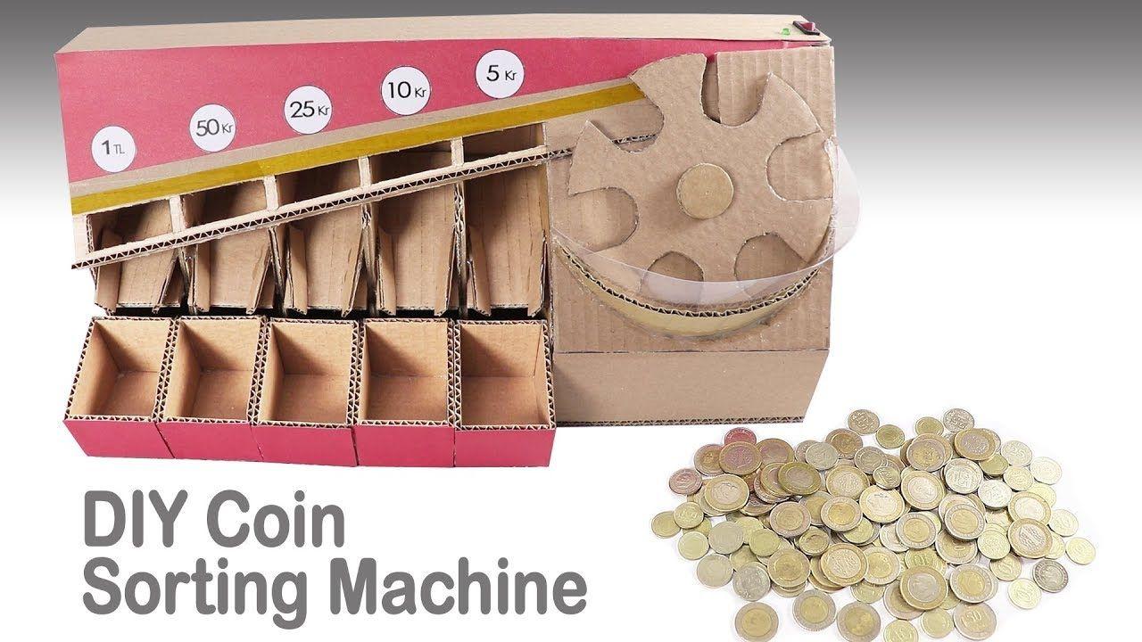 Otomatik Bozuk Para Ayirma Makinasi Nasil Yapilir Diy Coin