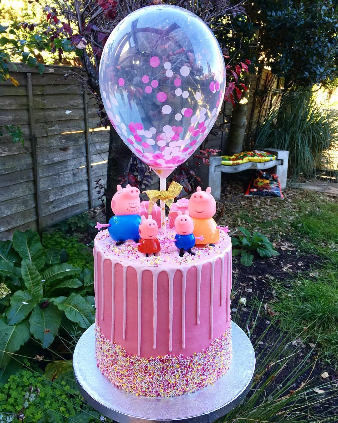 Peppa Pig Cake For A Very Special Little Girl