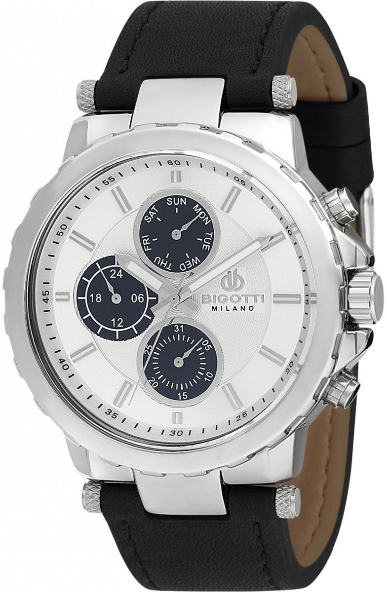 Bigotti Milano Men's Silver Watch