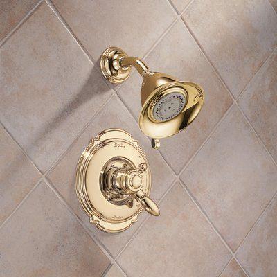 Delta Victorian Pressure Balanced Diverter Shower Faucet Trim With