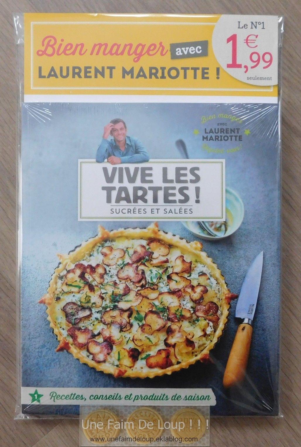 Quiche Lorraine De Laurent Mariotte : quiche, lorraine, laurent, mariotte, Collection, Manger, Laurent, Mariotte