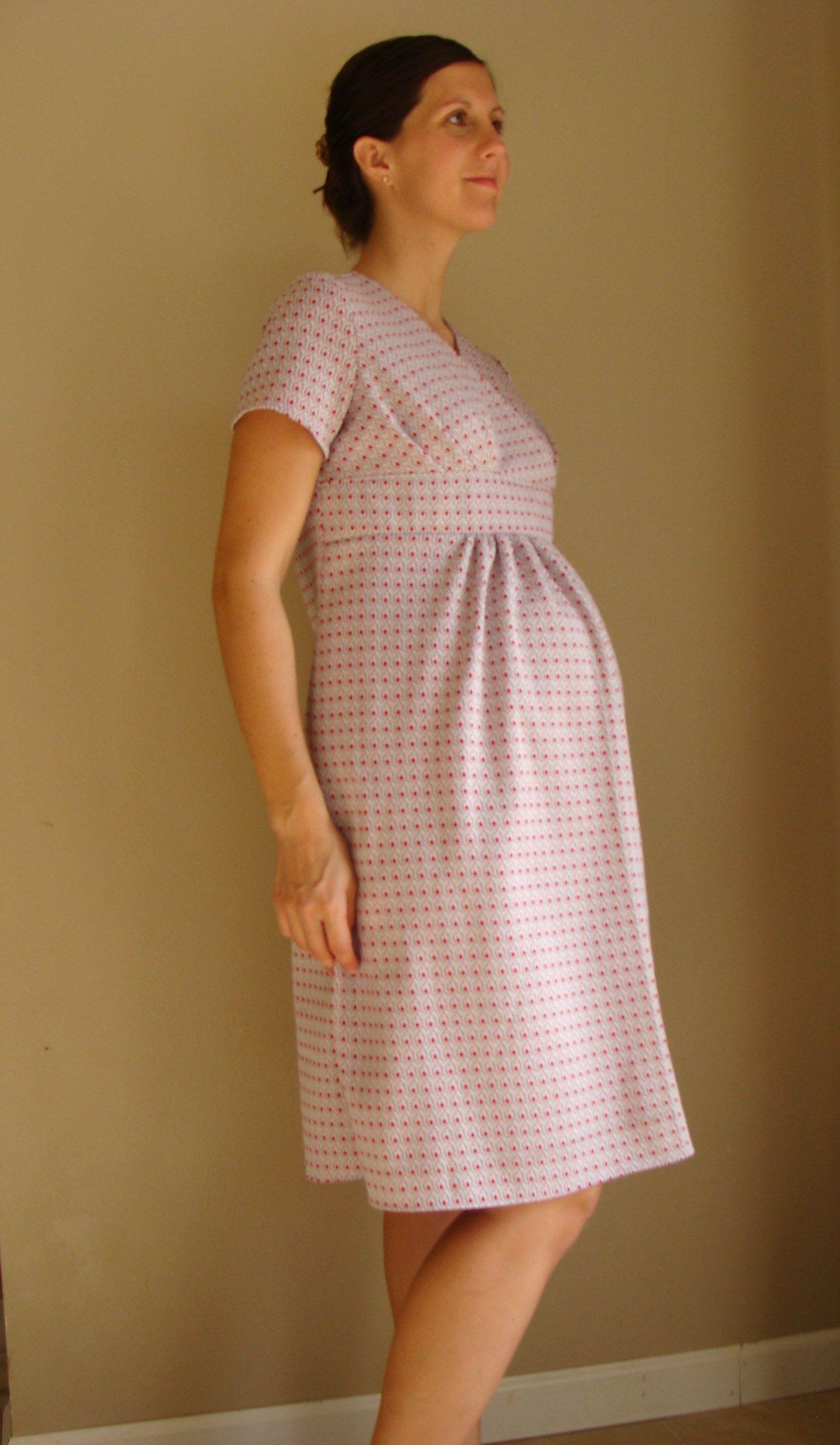 2b7a6cd9edc86 Retro 70s style Maternity Dress size 6/8 -- Ready Made | Things I ...