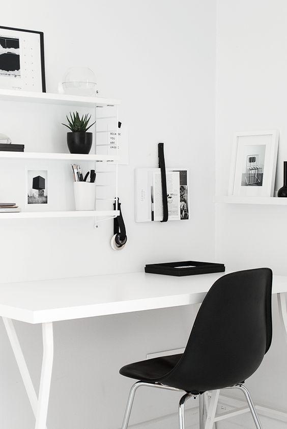 40 inspirations pour aménager un coin bureau | coin bureau