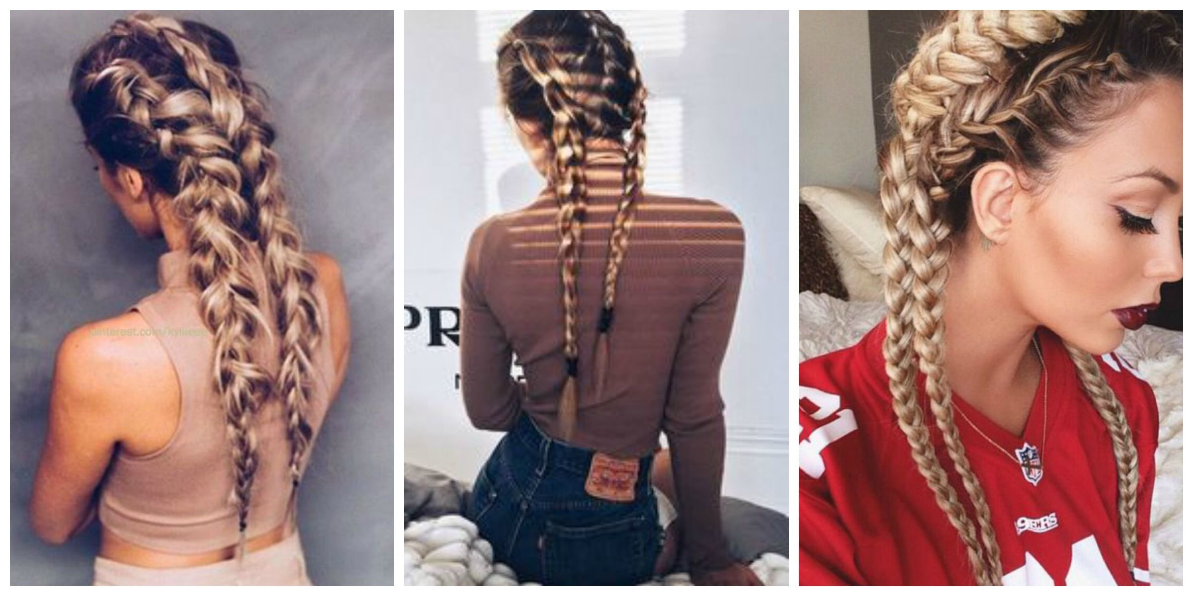How To Style Your Hair For Every Workout Lob Hairstyle Lob Haircut Hair Styles