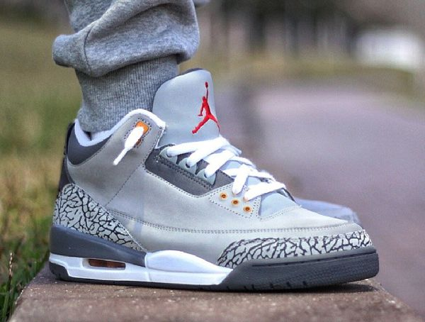 Jordan 3 s Cool Grey Sweats Exclusive Jordans 1f183dda3