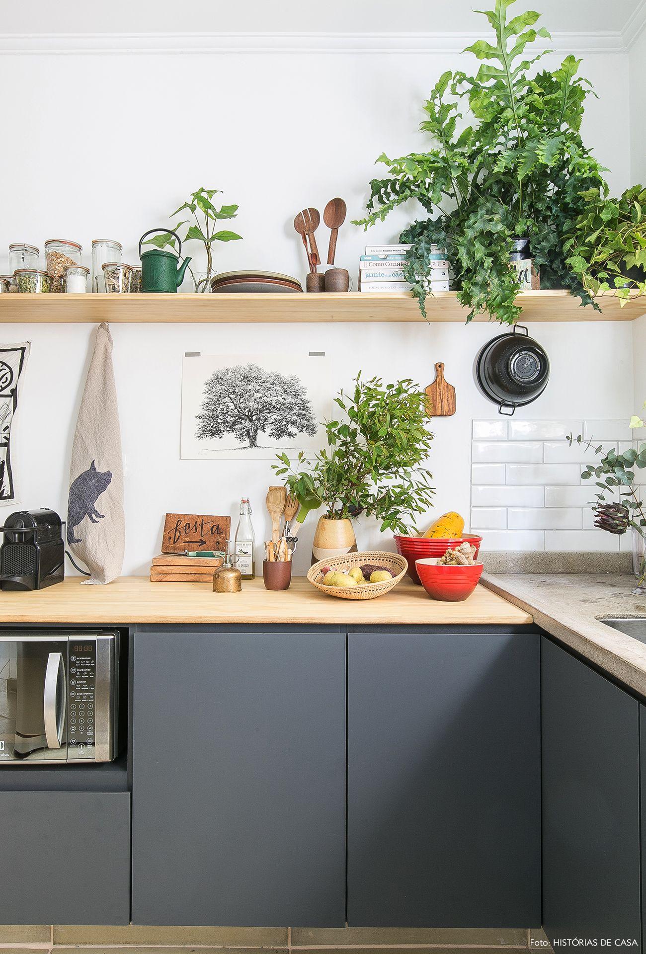 Verde por todos os lados | Küche, Ferienwohnung und Rund ums haus