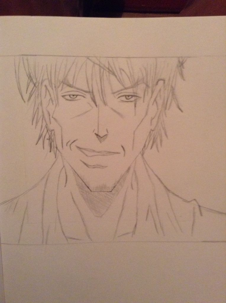 My drawing of a Bad guy