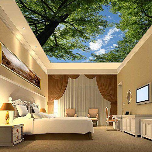 feis blue sky tree ceiling living room bedroom ceiling s https - Sky Wohnzimmer Umbau