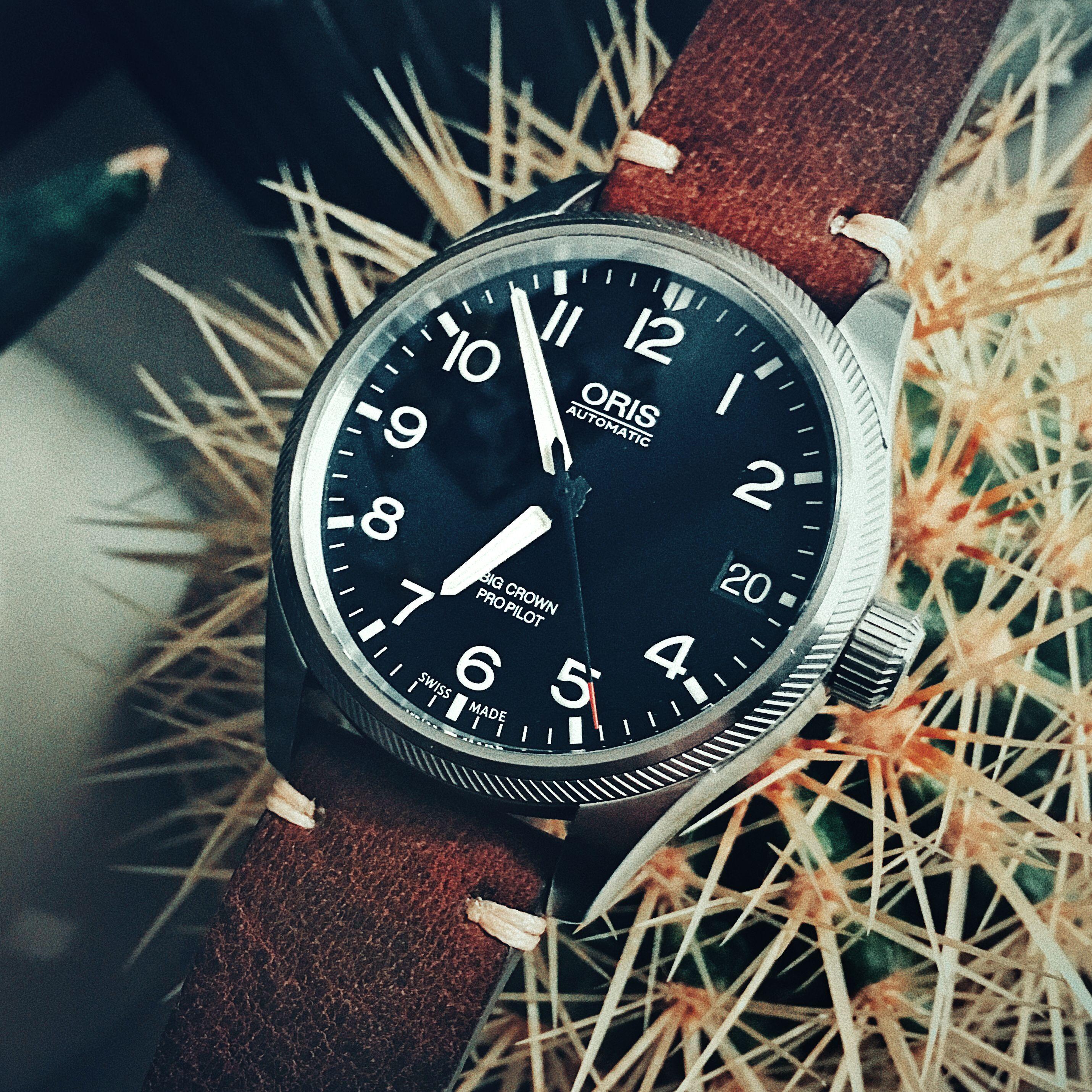 Oris Big Crown Propilot Date On Vintage Strap Mesh Strap Watch Luxury Watch Rolex Watches