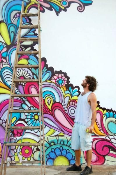 Thenewyorkoptimist Com Street Art In 2019 Mural Wall Art Mural