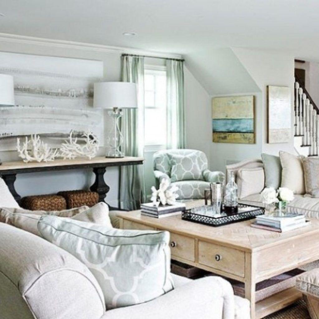 48 The Best Coastal Theme Living Room Decor Ideas Beach Theme