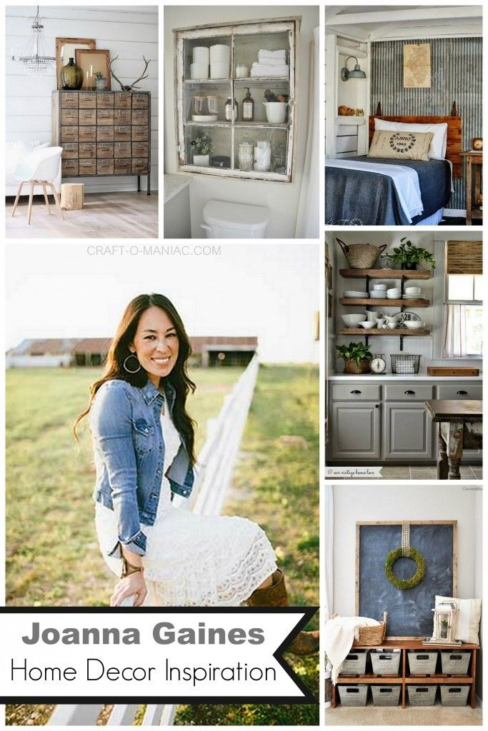 Joanna Gaines Home Decor Inspiration Country Chic Decor