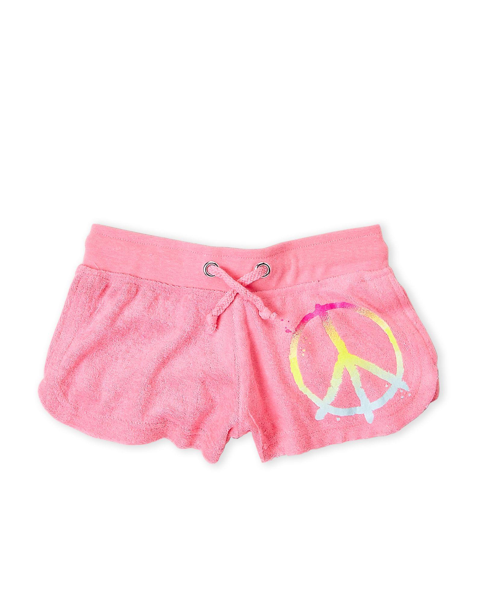 Girls terry cloth shorts apparel u accessories pinterest