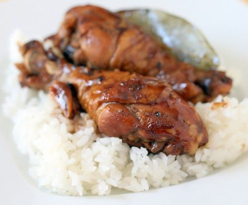 update from April 2007   When I first made chicken adobo 4 years ago, I was a little apprehensive about the seemingly large amount of vinega...
