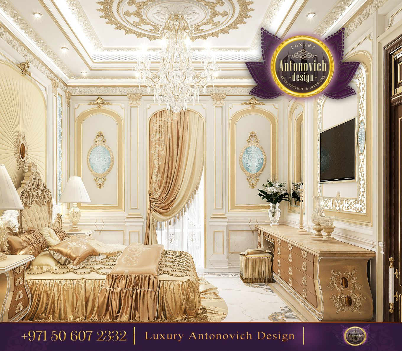 Luxury Home Interior Bed: Pin By Luxury Antonovich Design On Gorgeous Bedrooms From