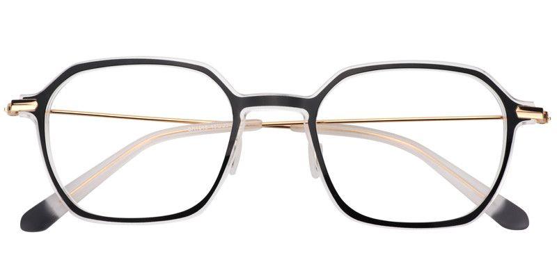 0d6cd01859d Prescription Glasses Ethel Rectangle Black Eyeglasses 0488-02 ...