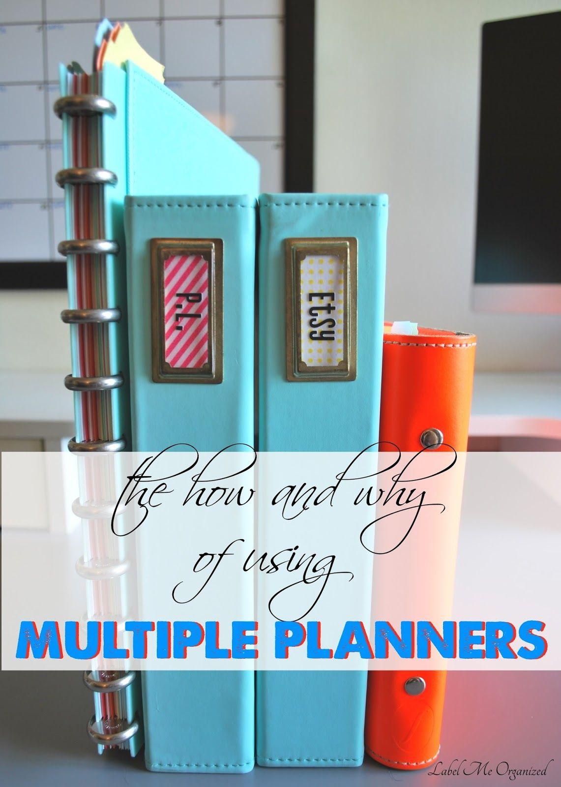 Gestion Hogar Why Use Multiple Planners Easy Explanation And Tutorial