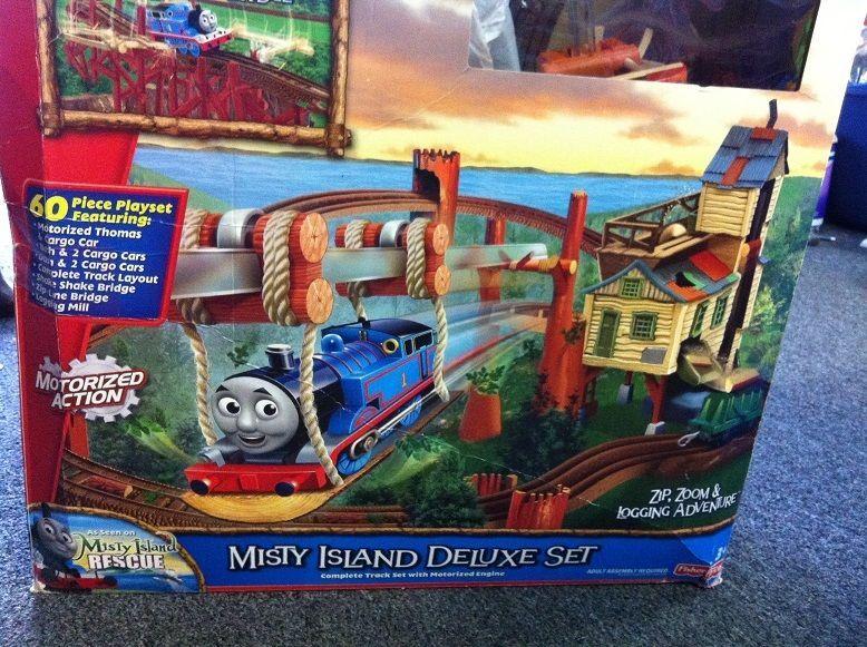 Thomas & Friends Trackmaster Misty Island Deluxe Set, Zip