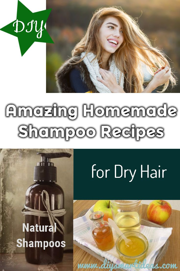 Easy Moisturizing Homemade Shampoo Recipes For Dry Hair Homemade Shampoo Recipes Homemade Shampoo Shampoo Recipe