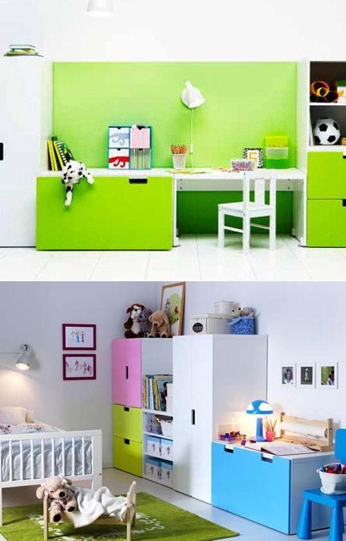 great ikea stuva ideas for your kids room design. Black Bedroom Furniture Sets. Home Design Ideas